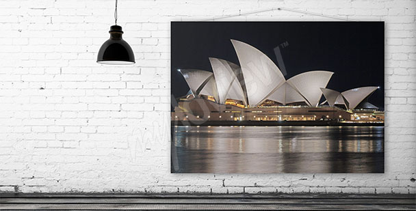 Sydney Opera House canvas print
