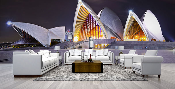 Sydney Opera House mural