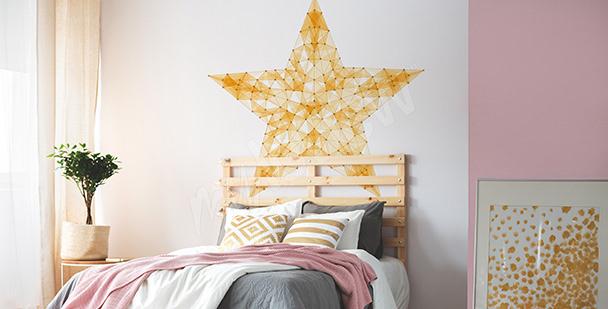 Teen star sticker