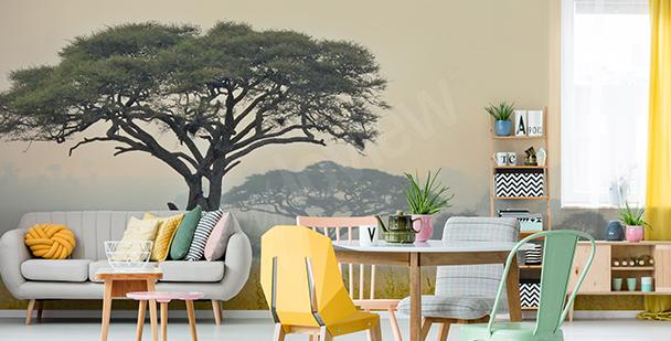 Trees in Tanzania mural