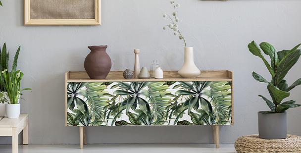Tropical wardrobe sticker
