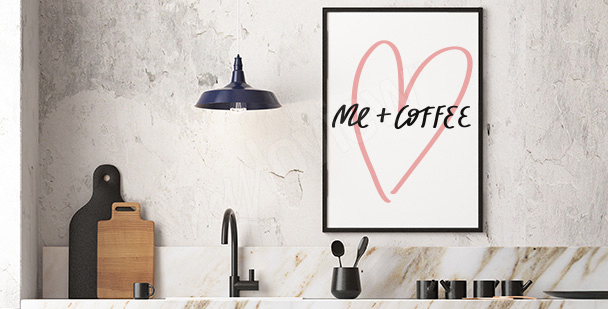 Typographic minimalism poster