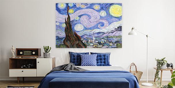 Van Gogh landscape canvas print