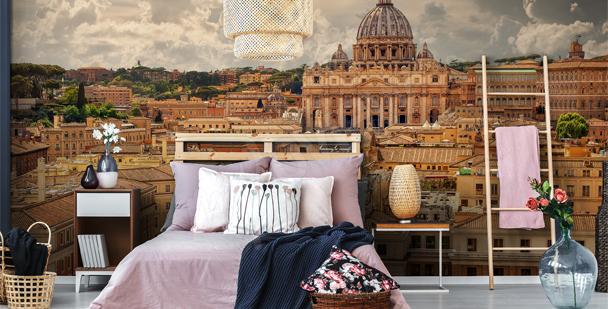 Vatican architecture mural