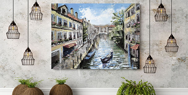 Venice architecture canvas print