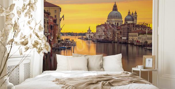 Venice bedroom mural