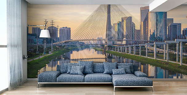 Wall mural contemporary metropolis