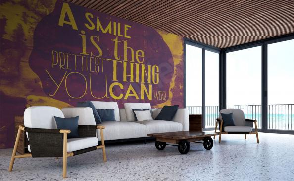wall mural typography motivation