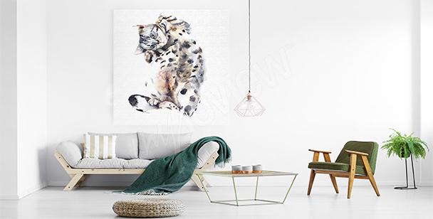 Wild animal canvas print